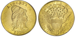 1796 No Stars $2.5 Gold Piece