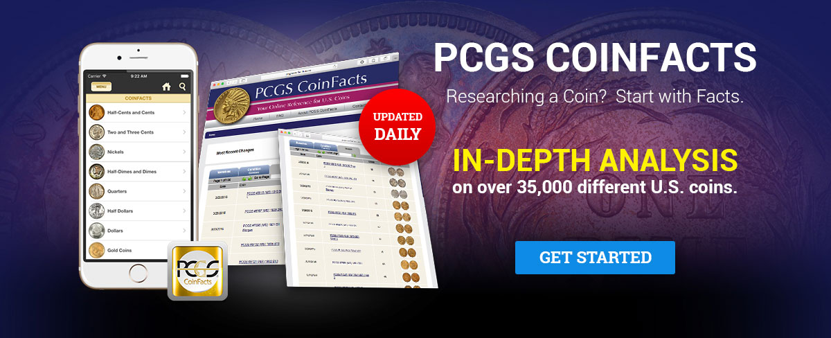 PCGS CoinFacts