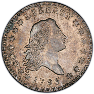 Obverse of 1795 Half Dollar