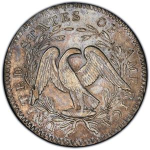Reverse of 1795 Half Dollar