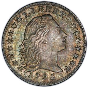 Obverse of 1795 Half Dime