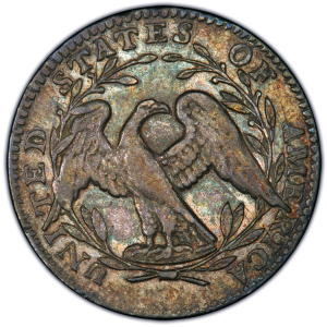 Reverse of 1795 Half Dime