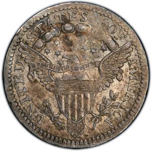 Reverse of 1800 Half Dime
