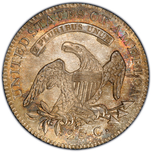 Reverse of 1820 Quarter Dollar