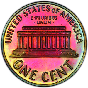 Reverse of 1961 Lincoln Cent