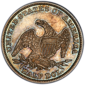 Reverse of 1838 Half Dollar