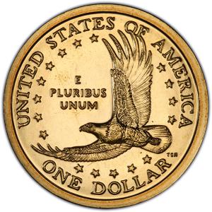 Reverse of Sacagawea Dollar