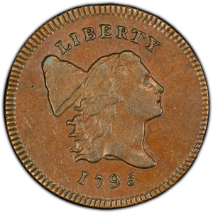 Obverse of 1795 Half Cent