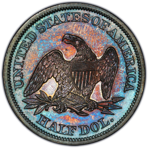 Reverse of 1846 Half Dollar