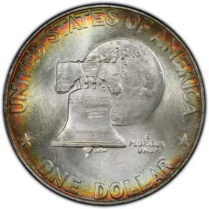 Reverse of 1976-S Bicentennial Eisenhower Dollar