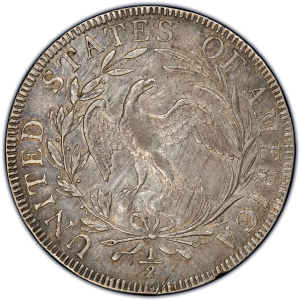 Obverse of 1797 Half Dollar