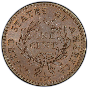 Obverse of 1794 Large Cent