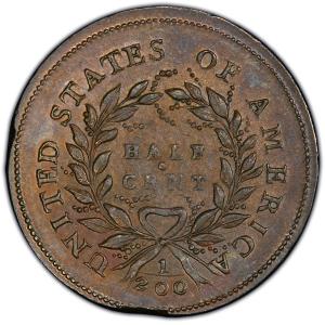 Reverse of 1793 Half Cent