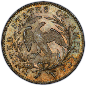 Reverse of 1796 Dime