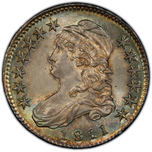 Obverse of 181 Half Dollar