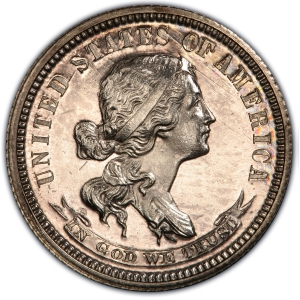 Obverse of 1870 Judd-867