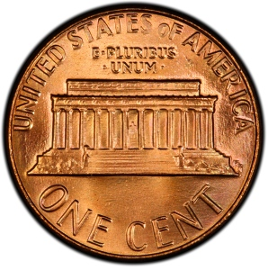 Reverse of 1984 Lincoln Cent