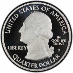 Obverse of 2011 Olympic Park Quarter Dollar