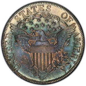 Reverse of 1807 Half Dollar
