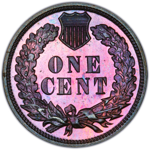 Reverse of 1904 Indian Head Cent