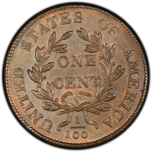 Reverse of 1803 Large Cent