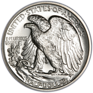 Reverse of 1940 Half Dollar