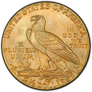 Obverse of 1926 Quarter Eagle