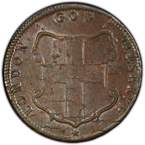 Reverse of Elephant Token - Thick