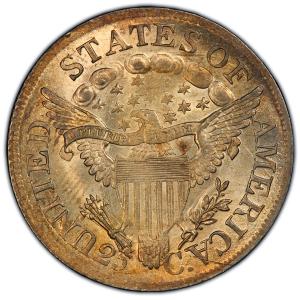 Reverse of 1807 Quarter Dollar