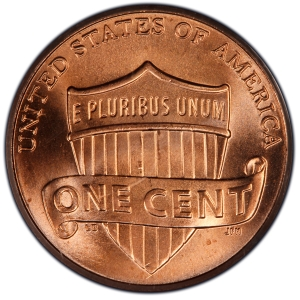 Reverse of Lincoln Cent - Shield Reverse