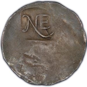 Obverse of New England Shilling