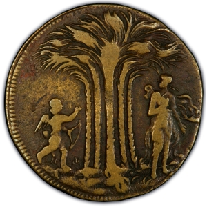 Obverse of New Yorke Token