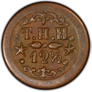 Obverse of Hawaiian Token