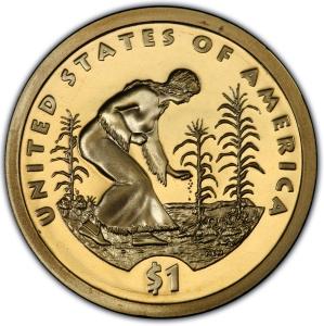 Mint 2009 P/&D Sacagawea Three Sisters Native American Indian Dollars Coins U.S