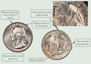 New US Quarters Coins