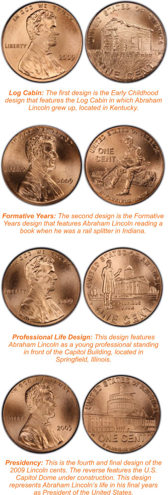 2009-S+P+D 12 COINS BOTH PROOF AND UNCIRCULATED COMMEMORATIVE LINCOLN CENT SETS