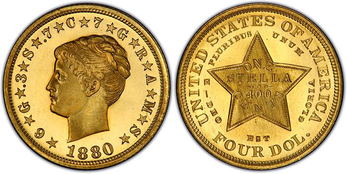 Ultra Rarities Spotlight The 1880 Coiled Hair Stella