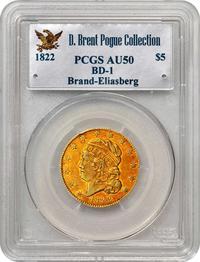 1822 half eagle holder