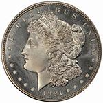 $1 1921 CHAPMAN PCGS PR66