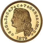 $4 1879 Flowing Hair DCAM
