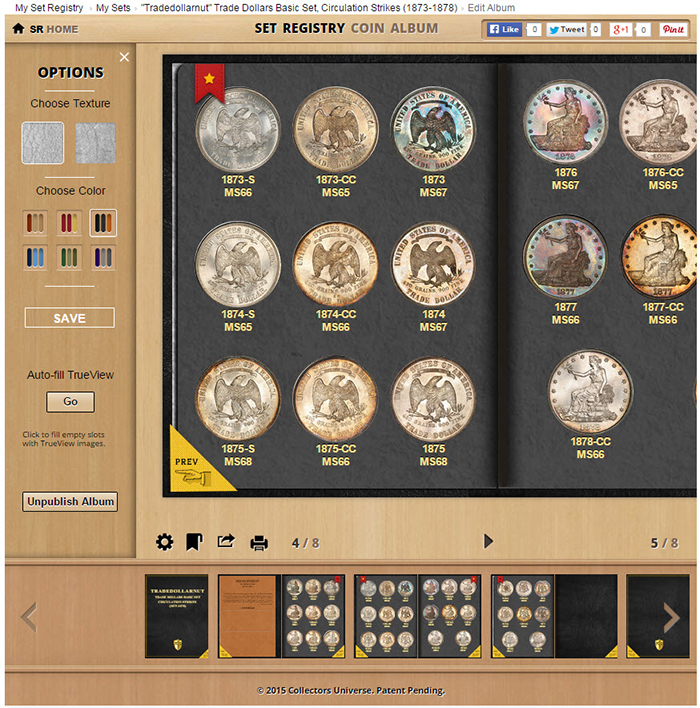 New Pcgs Digital Coin Album Lets You Proudly Display Your Sets