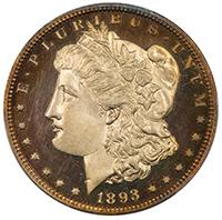 1893 $1 PCGS PR65DCAM