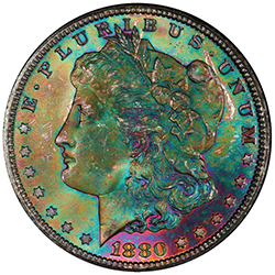 $1 1880-CC PCGS MS66+ Ex Sonnier