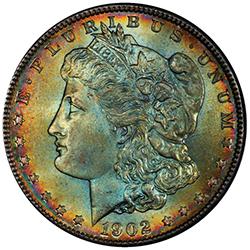 $1 1902-O PCGS MS66+