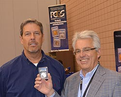 Mike Newman and Don Willis place 50 millionth label