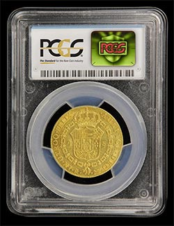 New 3D hologram on PCGS holder