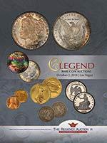Legend Regency Auction IX catalog cover