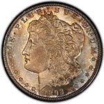 1893-S $1 Obverse