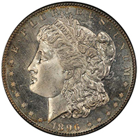 $1 1896-S PCGS MS66 PL Coronet Collection